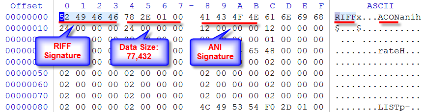 how to change a file to ani